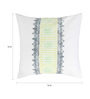 Rang Rage Lime Cotton 16 x 16 Inch Hand-Painted Shades Cushion Covers - Set of 4