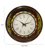 Rang Rage Multicolour MDF 16 Inch Round Royal Fest Round Wall Clock