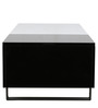 Rarity Multifunctional Coffee Table with Storage in Black Colour by Gravity