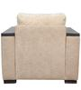 Raymond One Seater Sofa in Beige Colour by Star India