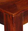 Freemont Six Seater Dining Table in Honey Oak Finish by Woodsworth