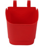 Red Vertical Hook Pot  (Pack of 100) By Chhajed Garden