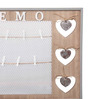 RedNBrown Brown Wood & MDF Hearts Memo Photo Frame