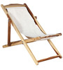 Colyton Folding Chair in Natural Sheesham Finish by Amberville