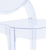 Replica Crystalline Chair in Transparent Finish by HomeHQ