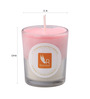 Resonance Candles Apple Cinnamon Aroma Scented Natural Wax Candle