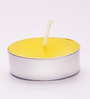 Resonance Candles Yellow Tea Light Candles - Set of 50
