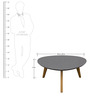 Retro Coffee Table by Asian Arts