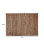 Rico Area Rug 120 x 96 Inch in Brown by CasaCraft