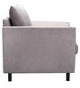 Rio Brilliance One Seater Sofa in Fog Grey Colour by Urban Living