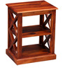 Fife Solid Wood End Table in Honey Oak finish by Woodsworth