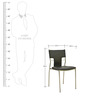 Rio Stackable Chair in Black Colour by HomeTown