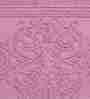 Riva Carpets Sculpted Pink Cotton 60x90 INCH Bath Mat