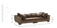 Roxum Three Seater Sofa in Brown Colour by Madesos