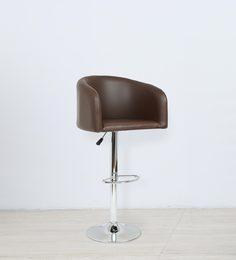 Rojer Bar Chair In Brown Color By The Furniture Store