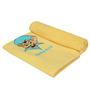 Imagica Roberto Applique Yellow Bath Towel