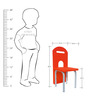 Role Play Chair in Orange Colour by KuriousKid