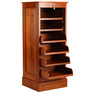 Roll up cabinet - Teak wood by Tube Style