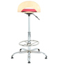 Rolly Bar Stool in Pink  by The Furniture Store