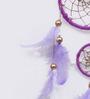 Rooh Dream Catchers Purple Wool Dream Catcher