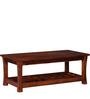 Raliegh Coffee Table in Honey Oak Finish by Woodsworth