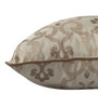 S9Home by Seasons Beige Polyester 16 x 16 Inch Traditional Cushion Cover with Piping - Set of 4