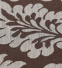 S9home by Seasons Damask Chocolate & Grey Polyester Table Cloth