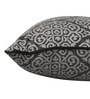 S9Home by Seasons Grey Polyester 16 x 16 Inch Traditional Cushion Cover with Piping - Set of 2