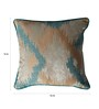 S9Home by Seasons Multicolour Polyester 16 x 16 Inch Abstract Cushion Cover with Piping