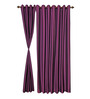 S9home by Seasons Purple Door Curtains Polyester (Set of 2)