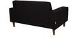 San Dimas Two Seater Sofa in Dark Grey Colour by CasaCraft