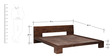 Fairmont King Bed in Provincial Teak Finish by Woodsworth