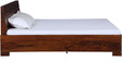 Tulsa King Bed in Provincial Teak Finish by Woodsworth