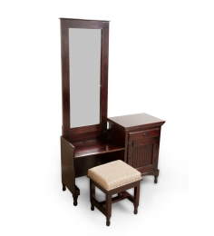 Saffron Quintessential Dressing Table with a Stool