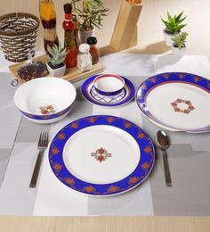 Sanjeev Kapoor Noor Collection Bone China Dinner Set - Set Of 27
