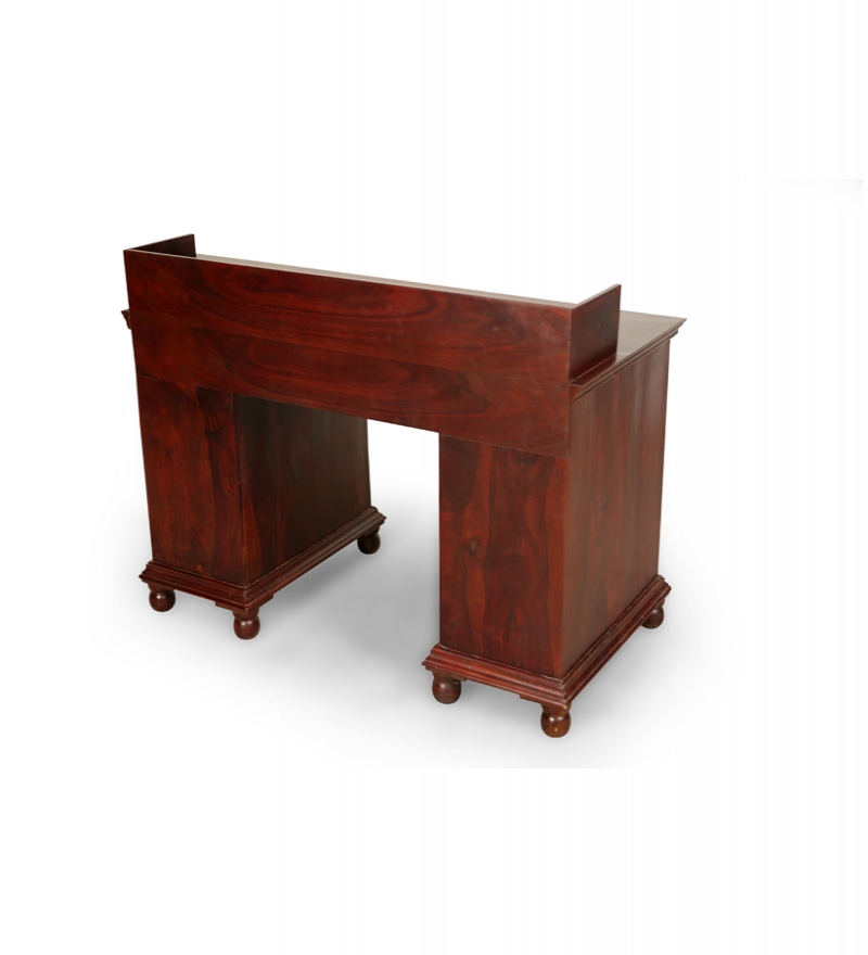 Saffron Rustic Looking Office Desk By Mudra Online