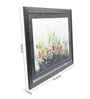 Sadhana Porwal Wooden 36 x 1.5 x 24 Inch Lords Laugh Ranthambore Palace Garden Framed Painting