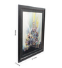 Sadhana Porwal Wooden 24 x 1.5 x 36 Inch Water Coral with Multicolour Framed Painting