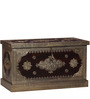 Shilodhruv Trunk with Brass Repousse Work by Mudramark