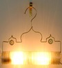 Sahil Sarthak Designs Thief of Baghdad Choori White Lamp