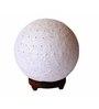 Salebrations White Yarn Table Lamp