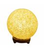 Salebrations Peach Yarn Ball Table Lamp