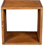 Tiber Display Unit in Premium Acacia Finish by Woodsworth