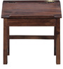 Morton Study Table in Provincial Teak Finish by Woodsworth