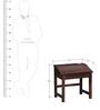 Morton Study Table in Honey Oak Finish by Woodsworth