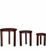 Tacoma Set Of Tables in Honey Oak Finish by Woodsworth