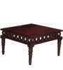 Bromley Coffee Table in Passion Mahogany Finish by Amberville