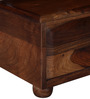 Camelford Bed Side Table in Provincial Teak Finish by Amberville