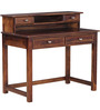 Tomah Study & Laptop Table in Provincial Teak Finish by Woodsworth