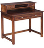 Polson Solid Wood Study & Laptop Table in Provincial Teak Finish by Woodsworth